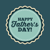 happy father's day design