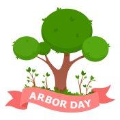 Arbor Day vector Illustration