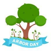 Arbor Day Illustration