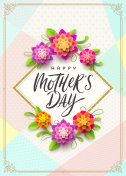 Happy mother's day - vector illustration
