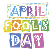 First April Fool Day Happy Holiday Greeting Card