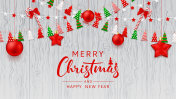 Merry Christmas Web Banner Template