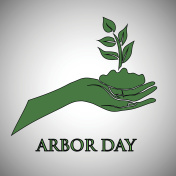 Arbor day concept.