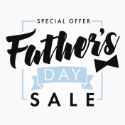 Father Day special offer SALE banner light