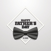 Happy father's day vector illustration. 19 June.