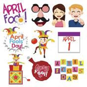 April Fools Day Illustrations