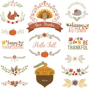 Fall and Thanksgiving set