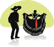 Mexican Folkloric dance 1