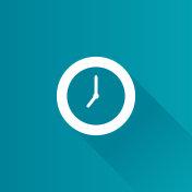 Metro Icon - Clock