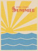 Summer retpo poster