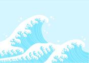 Japanese-style wave
