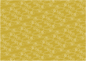 Illustration of golden wave(Japanese style)