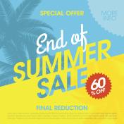 End Of Summer Sale banner