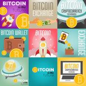 Bitcoin Posters Set