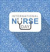 Vector illustration for International Nurse Day