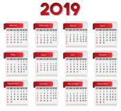 Accurate Calendar 2019