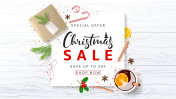 Promo Banner for Christmas Sale