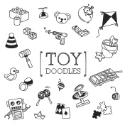 Children toy doodles set