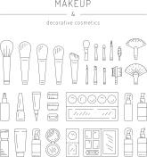 Decorative cosmetics makeup