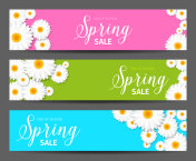 Spring Sales Banner