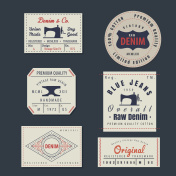 vintage original blue jeans raw denim labels,genuine exclusive b