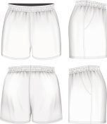 Rugby vector shorts