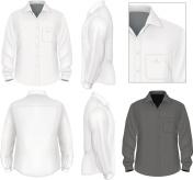 Men's button down shirt long sleeve