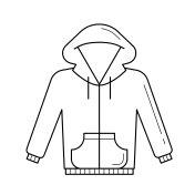 Sweater vector line icon