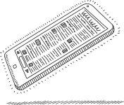 Digital news device - illustration