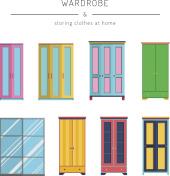 set wardrobes cabinets