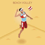 Athletics Beach Volley Player Games Athlete Sporting Championship International Competition