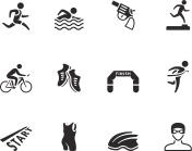 BW Icons - Triathlon