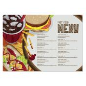 menu fast food template