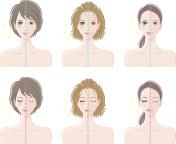 Women, Before makeup and after makeup