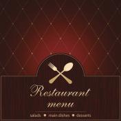 Template of a Restaurant Menu