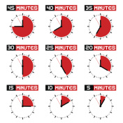 Countdown Stopwatch Set