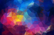Abstract Geometric triangle wallpaper