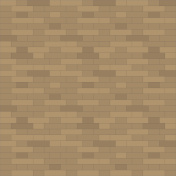 Brown brick wall background - Vector illustration