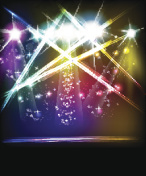 light stage vector background