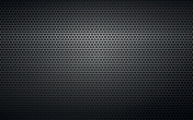 black perforated metal background texture