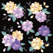 Japanese style cherry blossom