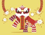 China Traditional Lion dance