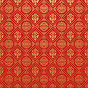 Chinese style wallpaper, red background, vector illustration