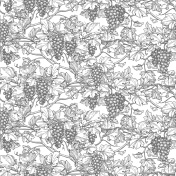 Seamless pattern with vine.