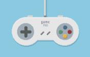 Gamepad Pixel Art Illustration