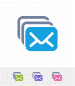 Mail Stack - Mix Icons