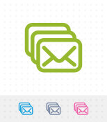 Mail Stack - Zap Icons