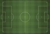 Soccer field - Vector illustration