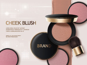 Cheek blush ads