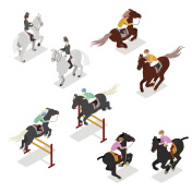 Isometric Equestrian Sports - Polo, Dressage